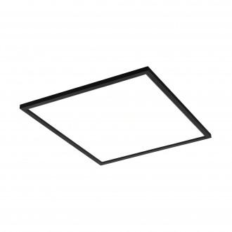 EGLO 99417 | EGLO-Connect-Salobrena Eglo spušteni plafon, stropne svjetiljke, visilice smart rasvjeta četvrtast daljinski upravljač jačina svjetlosti se može podešavati, sa podešavanjem temperature boje, promjenjive boje 1x LED 4300lm 2700 <-> 6500K
