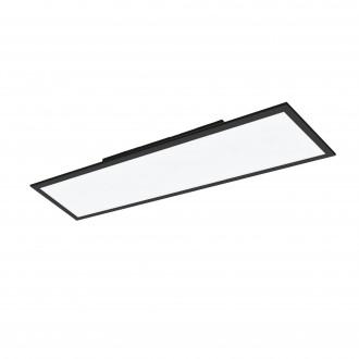 EGLO 99418 | EGLO-Connect-Salobrena Eglo spušteni plafon, stropne svjetiljke, visilice smart rasvjeta pravotkutnik daljinski upravljač jačina svjetlosti se može podešavati, sa podešavanjem temperature boje, promjenjive boje 1x LED 4300lm 2700 <-> 65