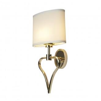 ELSTEAD BATH/FALMOUTH FG | Falmouth Elstead zidna svjetiljka 1x G9 320lm + 1x LED 70lm 3000K IP44 zlatno, bijelo