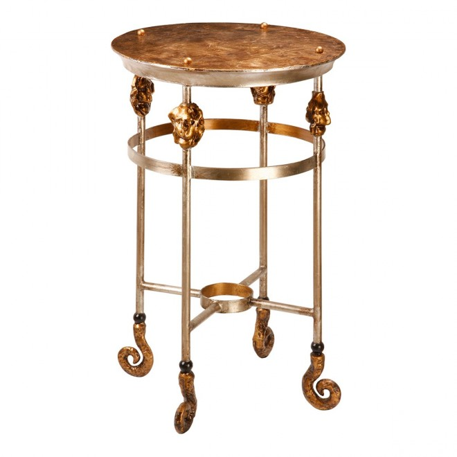 ELSTEAD FB/ARMORY S/TBL | Elstead pribor stol ručno bojano antik zlato
