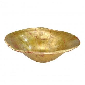 ELSTEAD FB/BEAUVOIR BOWL | Elstead pribor posuda ručno bojano antik zlato, antik zlato