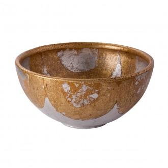 ELSTEAD FB/BELCHASE BOWL | Elstead pribor posuda ručno bojano antik zlato, antik zlato