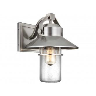ELSTEAD FE/BOYNTON2/M | Boynton Elstead zidna svjetiljka namjenjeno za primorje, elementi koji se mogu okretati 1x E27 IP44 UV brušeni čelik, efekt mjehura