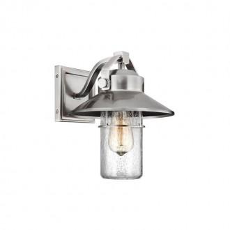 ELSTEAD FE-BOYNTON2-S   Boynton Elstead zidna svjetiljka namjenjeno za primorje, elementi koji se mogu okretati 1x E27 IP44 UV brušeni čelik, efekt mjehura
