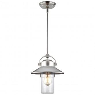 ELSTEAD FE/BOYNTON8/S | Boynton Elstead visilice svjetiljka namjenjeno za primorje, s podešavanjem visine 1x E27 IP23 UV brušeni čelik, efekt mjehura