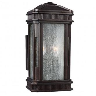 ELSTEAD FE/FEDERAL/S | Federal Elstead zidna svjetiljka namjenjeno za primorje 2x E14 IP44 UV brončano smeđe, efekt mjehura