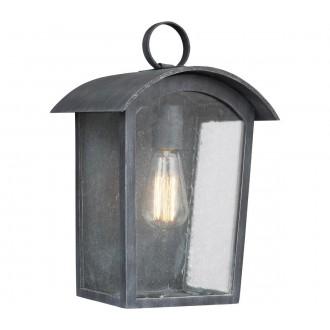 ELSTEAD FE/HODGES/S | Hodges Elstead zidna svjetiljka namjenjeno za primorje 1x E27 IP44 UV antik gvožđe, efekt mjehura