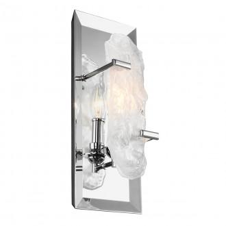 ELSTEAD FE/KATERINA CH | Katerina-EL Elstead zidna svjetiljka 1x E14 krom saten, kristal