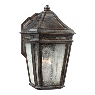 ELSTEAD FE/LONDONTOWNE | Londontowne Elstead zidna svjetiljka namjenjeno za primorje 1x E27 IP44 UV braon antik, efekt mjehura