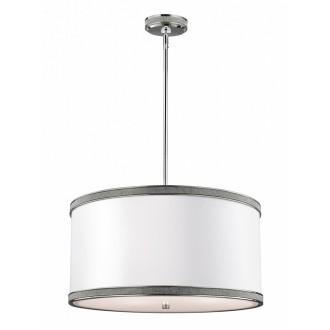 ELSTEAD FE/PAVE/F/S | Pave Elstead stropne svjetiljke svjetiljka 2x E27 satenski nikal, bijelo