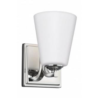 ELSTEAD FE/PAVE1 | Pave Elstead zidna svjetiljka 1x E27 satenski nikal, opal