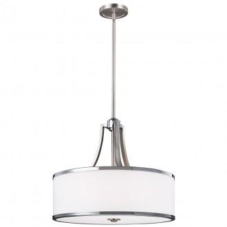 ELSTEAD FE-PROSPECT-PARK-4P | Prospect-Park Elstead visilice svjetiljka s podešavanjem visine 4x E27 satenski nikal, krom, opal
