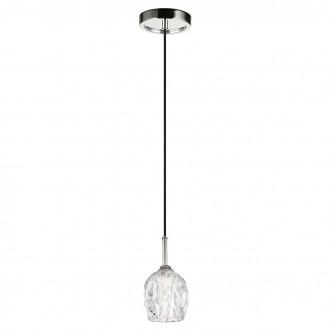 ELSTEAD FE/RUBIN/MP | Rubin-EL Elstead visilice svjetiljka 1x G9 320lm 3000K satenski nikal, prozirno