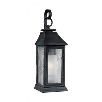 ELSTEAD FE/SHEPHERD/2M | Shepherd-EL Elstead zidna svjetiljka namjenjeno za primorje 1x E27 IP44 UV antik crno, bijelo, efekt mjehura