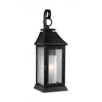 ELSTEAD FE/SHEPHERD/2S | Shepherd-EL Elstead zidna svjetiljka namjenjeno za primorje 1x E27 IP44 UV antik crno, bijelo, efekt mjehura