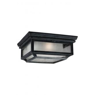 ELSTEAD FE/SHEPHERD/F | Shepherd-EL Elstead stropne svjetiljke svjetiljka namjenjeno za primorje 2x E27 IP44 UV antik crno, bijelo, efekt mjehura