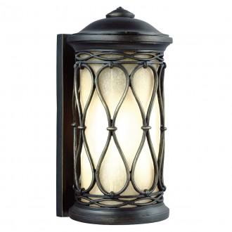 ELSTEAD FE/WELLFLEET/S | Wellfleet Elstead zidna svjetiljka namjenjeno za primorje 1x E27 IP44 UV antik brončano, jantar