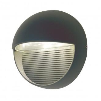 ELSTEAD FREYR-R | Freyr Elstead zidna svjetiljka 1x LED 260lm IP54 grafit
