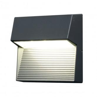 ELSTEAD FREYR-SQ | Freyr Elstead zidna svjetiljka 1x LED 260lm IP54 grafit