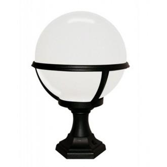 ELSTEAD GLENBEIGH PED/PO | Glenbeigh Elstead podna svjetiljka 42cm namjenjeno za primorje 1x E27 IP44 UV crno, opal