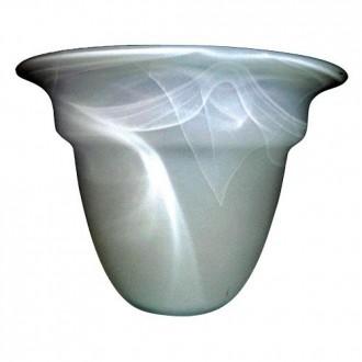 ELSTEAD GS81 | Glass-Shade Elstead sjenilo sijenilo bijelo