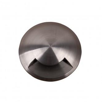 ELSTEAD GZ/FUSION3 | Bronze-Elite-Fusion Elstead ugradbena svjetiljka Ø90mm 90x90mm 3x LED 300lm 3000K IP65 plemeniti čelik, čelik sivo