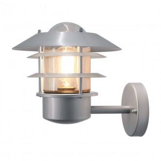 ELSTEAD HELSINGOR | Helsingor-Copenhagen Elstead zidna svjetiljka 1x E27 IP44 plemeniti čelik, čelik sivo