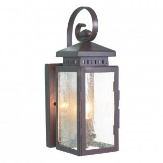 ELSTEAD HYTHE | Hythe Elstead zidna svjetiljka 1x E14 IP43 antik brončano, efekt mjehura