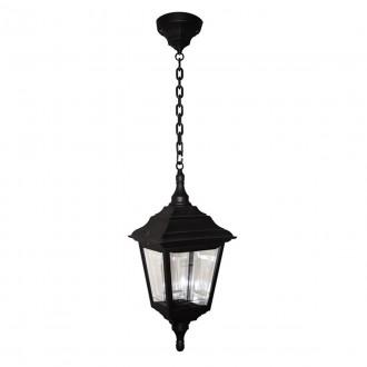 ELSTEAD KERRY CHAIN | Kerry Elstead visilice svjetiljka namjenjeno za primorje 1x E27 IP44 UV crno, prozirno