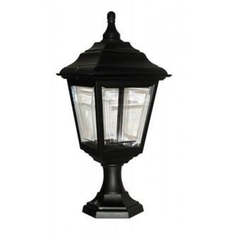 ELSTEAD KERRY PED/POR | Kerry Elstead podna, stropne svjetiljke svjetiljka namjenjeno za primorje 1x E27 IP44 UV crno, prozirno