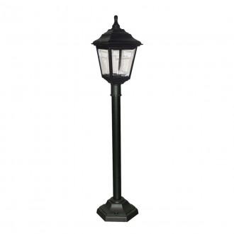 ELSTEAD KERRY PILLAR | Kerry Elstead podna svjetiljka 116cm namjenjeno za primorje 1x E27 IP44 UV crno, prozirno