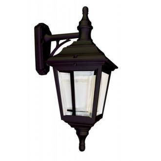 ELSTEAD KERRY WALL | Kerry Elstead zidna svjetiljka namjenjeno za primorje 1x E27 IP44 UV crno, prozirno