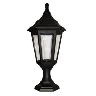 ELSTEAD KINSALE PED/POR | Kinsale Elstead podna, stropne svjetiljke svjetiljka namjenjeno za primorje 1x E27 IP44 UV crno, prozirno