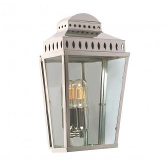 ELSTEAD MANSION HOUSE PN | Mansion-House Elstead zidna svjetiljka namjenjeno za primorje, ručna izrada 1x E27 IP44 UV satenski nikal, prozirno