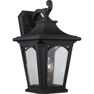 ELSTEAD QZ/BEDFORD2/L | Bedford-EL Elstead zidna svjetiljka namjenjeno za primorje 1x E27 IP44 UV crno, efekt mjehura