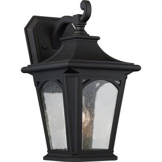 ELSTEAD QZ/BEDFORD2/M | Bedford-EL Elstead zidna svjetiljka namjenjeno za primorje 1x E27 IP44 UV crno, efekt mjehura