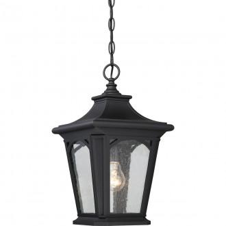 ELSTEAD QZ/BEDFORD8/S | Bedford-EL Elstead visilice svjetiljka namjenjeno za primorje 1x E27 IP44 UV crno, efekt mjehura