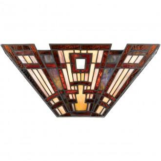 ELSTEAD QZ-CLASSIC-CRAFT-WU | Classic-Craftsman Elstead zidna svjetiljka 2x E14 višebojno