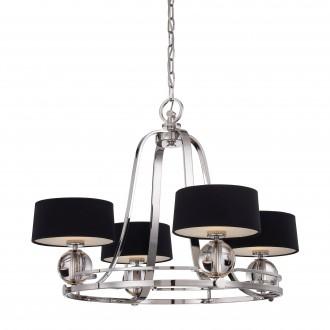 ELSTEAD QZ/GOTHAM4 | Gotham Elstead luster svjetiljka 4x G9 1280lm 3000K srebrno, crno, prozirno