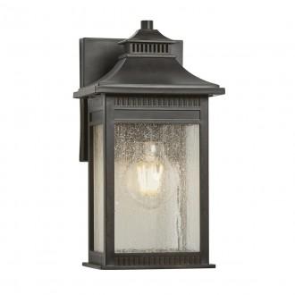ELSTEAD QZ/LIVINGSTON2/S | Livingston Elstead zidna svjetiljka namjenjeno za primorje 1x E27 IP44 UV brončano smeđe, efekt mjehura