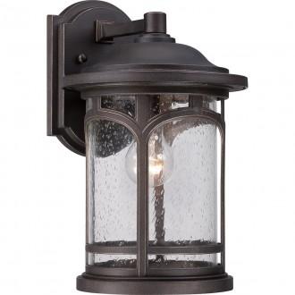ELSTEAD QZ/MARBLEHEAD2/M | Marblehead Elstead zidna svjetiljka namjenjeno za primorje 1x E27 IP44 UV antik brončano, efekt mjehura