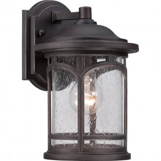 ELSTEAD QZ/MARBLEHEAD2/S | Marblehead Elstead zidna svjetiljka namjenjeno za primorje 1x E27 IP44 UV antik brončano, efekt mjehura