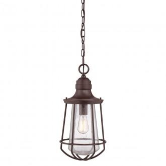 ELSTEAD QZ-MARINE8-L | Marine Elstead visilice svjetiljka 1x E27 IP23 bronca, efekt mjehura