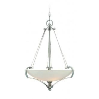 ELSTEAD QZ-SUTTON-PLACE-P | Sutton-Place Elstead visilice svjetiljka 4x E27 srebrno, bijelo