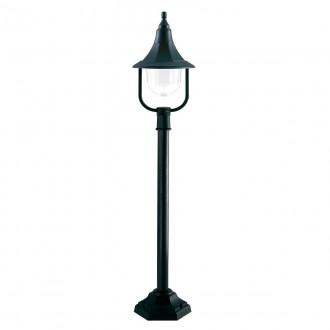 ELSTEAD SHANNON-PILLAR | Shannon-EL Elstead podna svjetiljka 118cm namjenjeno za primorje 1x E27 IP44 UV crno, prozirno
