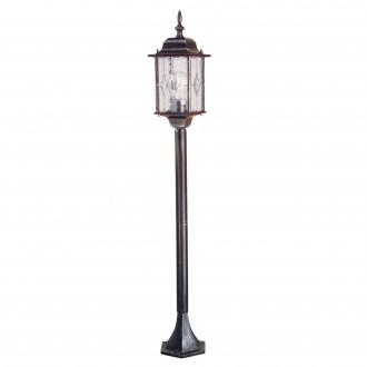 ELSTEAD WX4 | Wexford Elstead podna svjetiljka 123,5cm 1x E27 IP43 antik crno, prozirno
