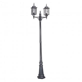 ELSTEAD WX8 | Wexford Elstead podna svjetiljka 228,5cm 2x E27 IP43 antik crno, prozirno
