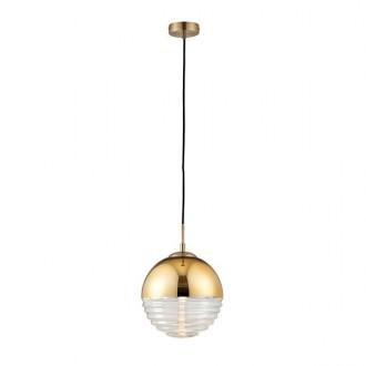 ENDON 68958 | Paloma-EN Endon visilice svjetiljka 1x E14 zlatno, prozirno