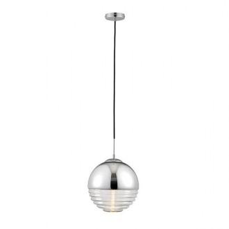 ENDON 68959 | Paloma-EN Endon visilice svjetiljka 1x E14 krom, prozirno