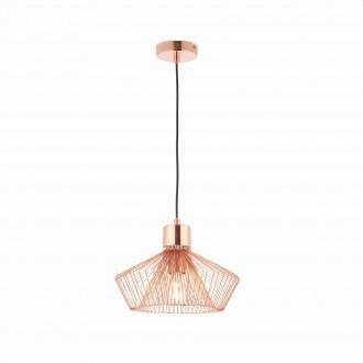 ENDON 72813 | Kimberley Endon visilice svjetiljka 1x E27 crveni bakar
